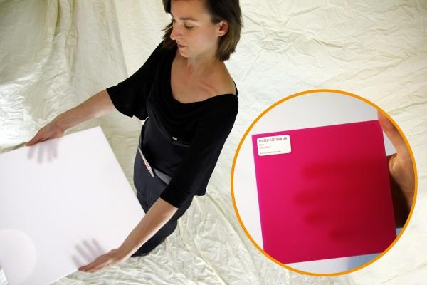 Acrylglas Perspex Spectrum LED 1010 x 3050 x 3 (4TL1) pink opal