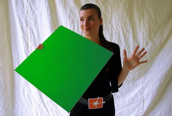 Foamalite color grün 5 mm