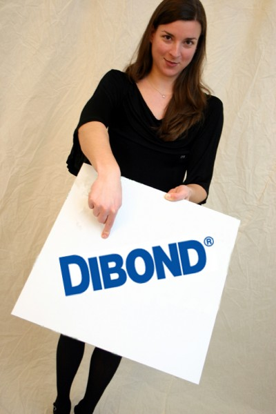 DIBOND® platinweiß 1250 x 2550 x 3 mm Aluminiumverbundmaterial
