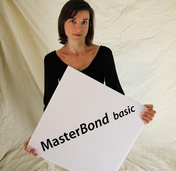Masterbond basic weiß 1250 x 2550 x 3 mm Aluminiumverbundmaterial