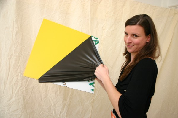 Masterbond, color gelb, 1500 x 3050 x 3 mm, Aluminiumverbundmaterial