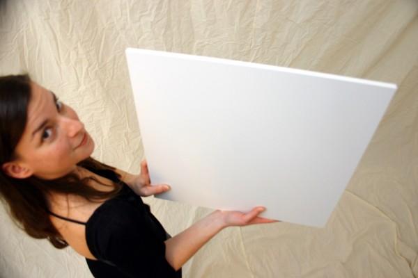 Foamalite 1220 x 2550 x 4 mm, PVC-Hartschaum