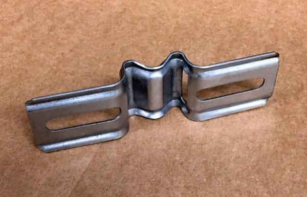 Stahlbandhalterung mit 55 - 120 mm Lochabstand SHD 109 VA