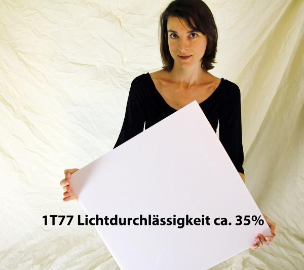 Acrylglas Perspex GS, 990 x 1500 x 30 mm, LED Block weiß / opal 1T77 LD 35%