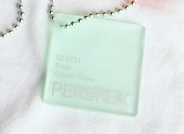 Acrylglas Perspex GS 1000 x 2030 x 5 frost glacier green (6T21)