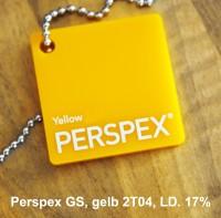 Acrylglas Perspex GS gelb 2T04 1000 x 2030 x 3 mm