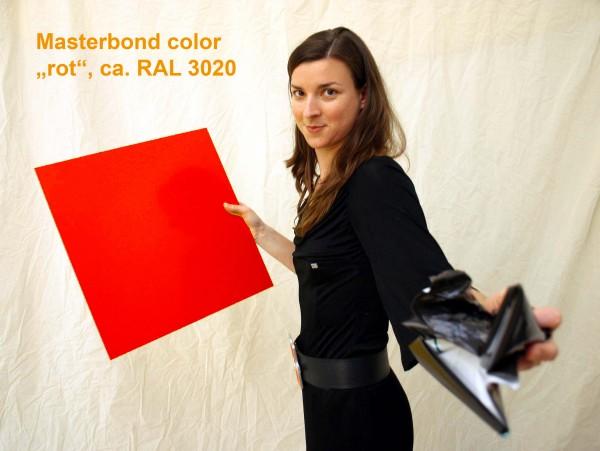 Masterbond color verkehrsrot, RAL 3020