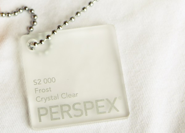 Acryglas Perspex GS 2030 x 3050 x 3 frost crystal clear (000)