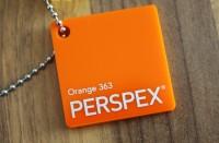 Acrylglas Perspex GS orange 363 1000 x 2030 x 3 mm
