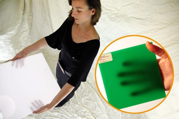 Acrylglas Perspex Spectrum LED 1000 x 2030 x 3 (6TL1) green opal