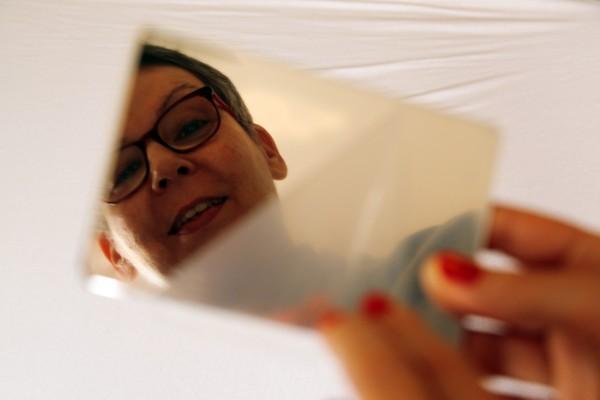Dibond Spiegel aussen