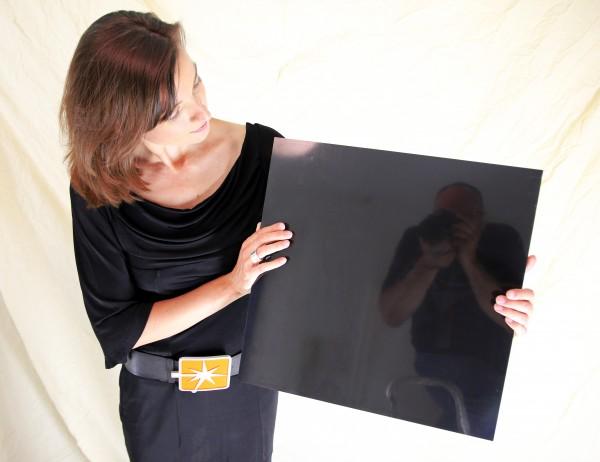 "Masterbond premium color, 1500 x 3050 x 3 mm, ""schwarz"", Aluminiumverbundmaterial"